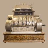 Antiek Kasregister Royalty-vrije Stock Foto's