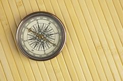 Antiek Kompas Royalty-vrije Stock Foto