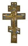 Antiek kruis stock foto