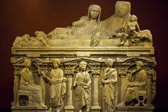 Antiek leeftijds Marmeren Standbeeld Royalty-vrije Stock Afbeeldingen