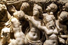 Antiek leeftijds Marmeren Standbeeld Royalty-vrije Stock Foto