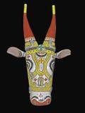 Antiek Masker Royalty-vrije Stock Foto's
