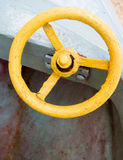 Antiek Metaalwiel Stock Afbeelding