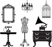 Antiek meubilair Royalty-vrije Stock Afbeeldingen