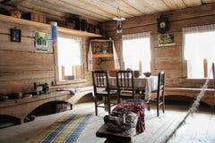 Antiek meubilair in het binnenland Stock Afbeelding