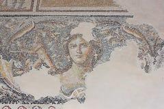 Antiek mozaïek, nationaal park Zippori, Galilee, Israël Stock Afbeelding