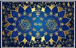 Antiek ottoman gouden ontwerp Royalty-vrije Stock Foto
