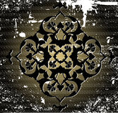 Antiek ottoman grungy behangontwerp vector illustratie