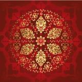 Antiek ottoman naadloos behang vector illustratie