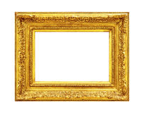 Antiek Overladen Gouden Frame Stock Fotografie