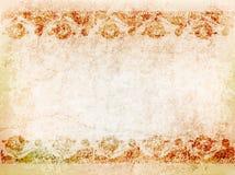 Antiek patroon als achtergrond op de oude muur Illustratie Stock Illustratie