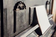 Antiek pianoelement Stock Fotografie