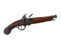 Antiek pistool Royalty-vrije Stock Foto