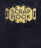 Antiek Plakboek, Circa 1890 Stock Foto