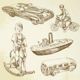 Antiek speelgoed Royalty-vrije Stock Afbeeldingen