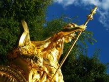 Antiek standbeeld Stock Afbeeldingen