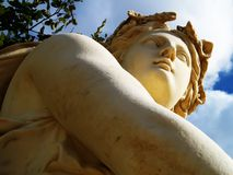 Antiek standbeeld Stock Foto's