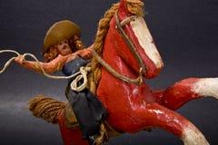 Antiek Stuk speelgoed Stock Afbeeldingen