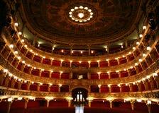Antiek Theater Royalty-vrije Stock Fotografie