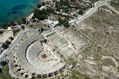 Antiek theater Antalya, Turkije royalty-vrije stock foto's
