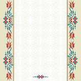 Antiek vectorontwerp drieënnegentig van het ottomane Turks patroon Royalty-vrije Stock Afbeeldingen