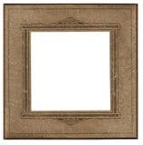 Antiek vierkant fotoframe Royalty-vrije Stock Foto's