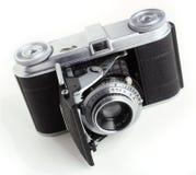Antieke 35mm filmcamera Royalty-vrije Stock Afbeeldingen