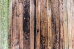 Antieke achtergrond van de Abstarct de donkere houten textuur Stock Foto