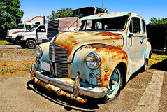 Antieke Amerikaanse auto Royalty-vrije Stock Foto