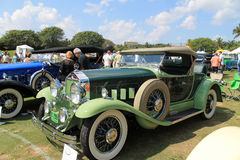 Antieke Amerikaanse sportieve auto Stock Foto