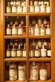 Antieke apotheek, Beaune, Frankrijk Stock Foto