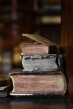 Antieke boeken Royalty-vrije Stock Foto's