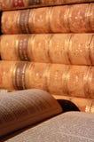 Antieke Boeken Royalty-vrije Stock Foto