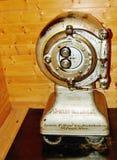 Antieke brandkast van Noord-Dakota Stock Fotografie