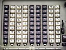 Antieke calculator Stock Foto