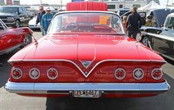Antieke Chevrolet-Impalaauto Stock Foto