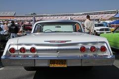 Antieke Chevrolet-Impalaauto Stock Fotografie