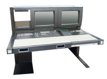 Antieke Computer Royalty-vrije Stock Afbeeldingen