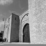 Antieke deur van Bab Laalou /Rabat Royalty-vrije Stock Foto