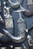 Antieke dolken Stock Foto's
