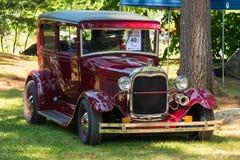 Antieke doorwaadbare plaatsauto Royalty-vrije Stock Afbeeldingen