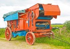 Antieke Dorser. ; landbouwbedrijf apparatuur. royalty-vrije stock afbeeldingen