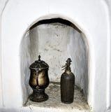 Antieke en oude lantaarn Stock Foto's