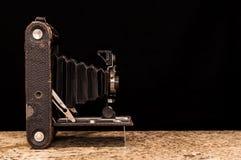 Antieke filmcamera Stock Afbeelding