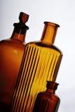 Antieke flessen Royalty-vrije Stock Afbeeldingen