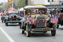 Antieke Ford-voertuigen Stock Foto's