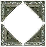 Antieke fotohoeken van de vroege jaren 1900 Royalty-vrije Stock Afbeeldingen
