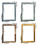 Antieke Frames Grunge Royalty-vrije Stock Afbeeldingen