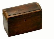 Antieke gesloten doos - Stock Afbeelding