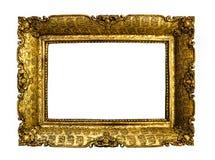 Antieke gouden omlijsting Stock Foto
